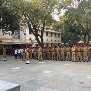 H L College of Commerce National Cadet Corps