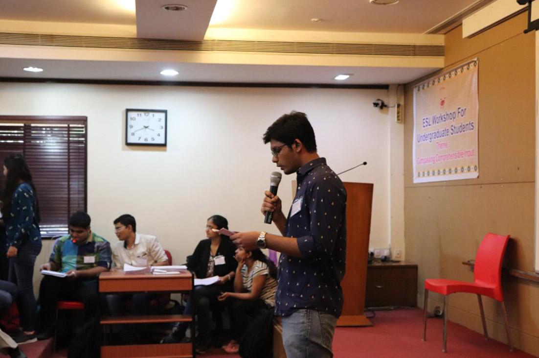 ESL Workshop for Undergraduate Students